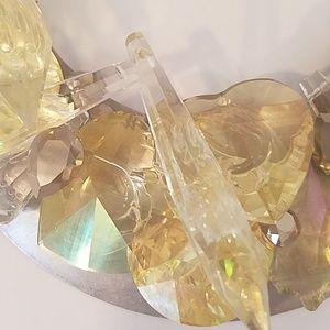 GASOLINE GLAMOUR Jewelry - Deluxe yellow Swarovski fancystone necklace sample